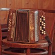 Stock Photo: Old accordion
