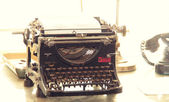 Old typewriter — Foto Stock