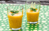 Mango smoothie — Stockfoto