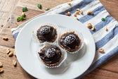Domácí syrové koláče — Stock fotografie
