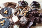 Tartas caseras de crudo — Foto de Stock