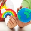 Environmental awareness and education concept — Stock Photo