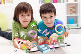 Modern education and online learning possibilities — Stock Photo