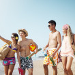Stock Photo: Beach lifestyle