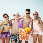 Beach lifestyle — Stock Photo