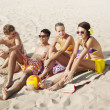 Beach holiday — Stock Photo #13197307