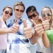thumbs up&quot — Stock Photo