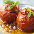 Stock Photo: Stuffed tomatoes