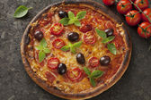 Margarita pizza — Foto Stock