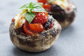 Stuffed mushrooms — Stock Photo