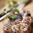 Grilled fillet steak — Stock Photo