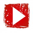 Stock Vector: Old YouTube Icon