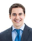 Businessman, isolated on white background — Stock Photo