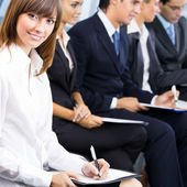 Business meeting, seminar or training — Stock Photo