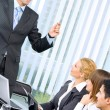 Business meeting, seminar or training - Stock Photo