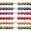 Coloured abacus — Stock Photo