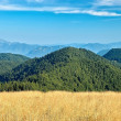 View of the Slovak mountains — Stock Photo