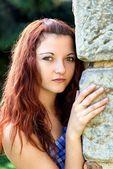 Chica joven — Foto de Stock