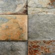 Stock Photo: Stone tile