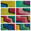 Color detail blankets — Stock Photo