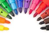 Marqueurs de couleur — Photo
