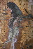 Rust on metal — Stockfoto