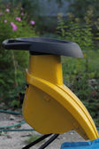 A garden wood chipper. — Stock Photo