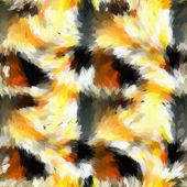 Battle fire, flame and smoke abstract. — Stock Photo