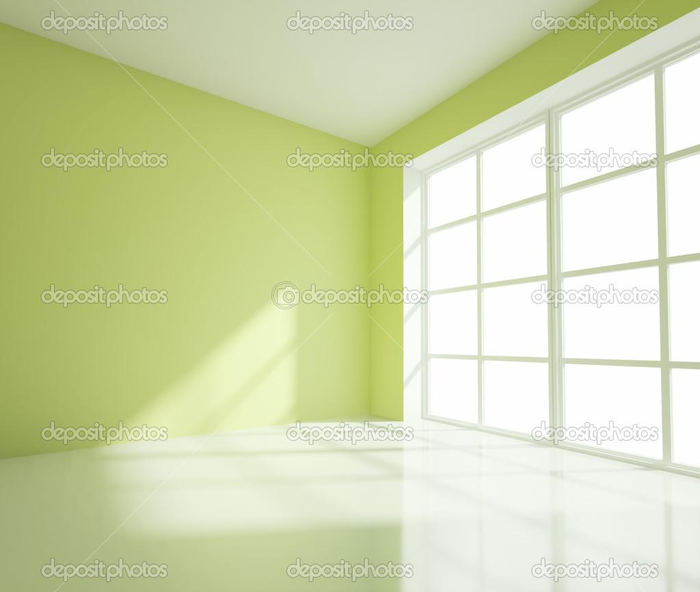 Chambre verte vide — photographie peshkova © #12705318