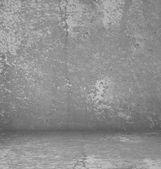 Gray concrete room — Foto de Stock