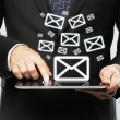 Email icon — Stock Photo #13709945
