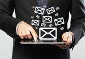 E-mail-symbol — Stockfoto