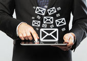 Ikona e-mailu — Stock fotografie