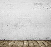 Tuğla oda — Stok fotoğraf