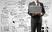 Concepto de estrategia de negocio — Foto de Stock