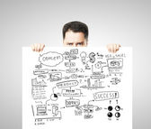 Strategia di business plan — Foto Stock