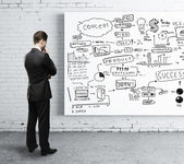 Concetto di strategia di business — Foto Stock