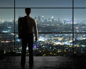 Nacht-stadt — Stockfoto