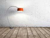 Lâmpada na sala — Fotografia Stock