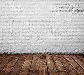 Sala de tijolo — Foto Stock