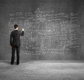 Drawing formulas — Stock Photo