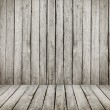 Stock Photo: Grunge wooden room