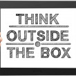 Think outsite box — Stock Photo #14719209
