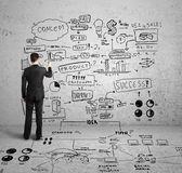 Elaboración de concepto global — Foto de Stock