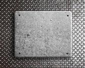 Metal table — Stock Photo