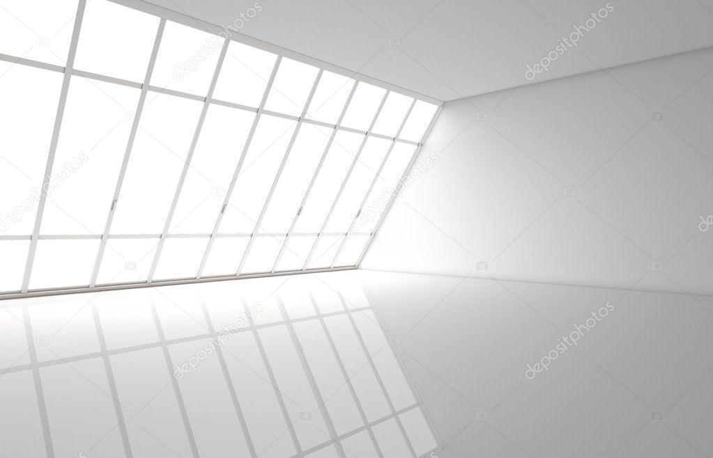 Зал белый