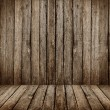 Gray wooden room — Stock Photo #15371965