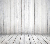 White wooden room — Stock Photo