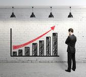 Schéma zisk — Stock fotografie