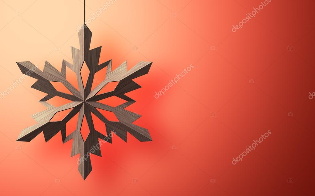 Christmas background with snowflake and with place for you text — Stock Photo #17177207